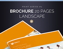 Brochure Landscape 20 Pages Series 1