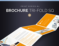 Brochure Tri-Fold Square Series 1