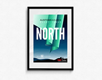 "TEDxTurku 2014 ""North"": Visual Identity and Graphics"