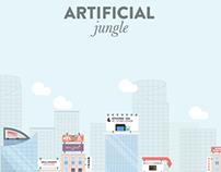 Artificial Jungle - Digital Illustration Project