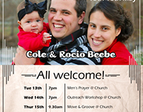 Evangelist Advert Flyer