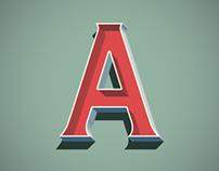 Crawling Typeface