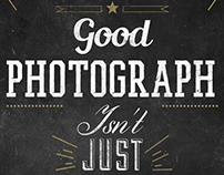 Photography Typography 01