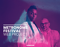 Metronome Festival: Website