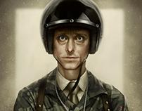 Gareth Keenan Portrait