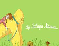 Ay Talaga Naman.. postcard series