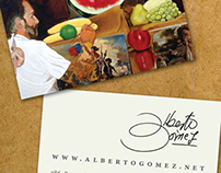 Alberto Gomez - Business Card
