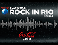 Mica Coca-Cola Zero Rock in Rio
