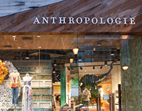 Anthropologie Visual Display