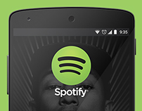 Spotify Redesign for Android
