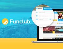 Funclub website