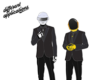 Daft Punk_Mask different applications