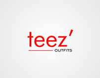 Branding for Teez' Outfits. Ile-Ife.