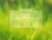 1st May Freebie: Bokeh Backgrounds