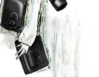 Alexander Wang accessory ad