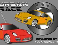 Games- Urban Race UI Design