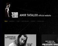 Amir Tataloo New WebSite V2