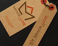 Manor Luxe - Logo for home decor shop