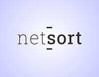 """UI/UX Design for """"NetSort/TeleSort"""" mobile android app"""