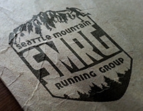 "Seattle Mountain Running Group ""SMRG"" Logo Concepts"