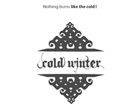 Cold Winter  | Calligraphy poster & shirt