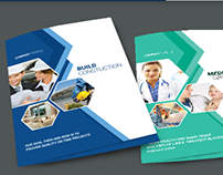 Multi Purpose Bi-Fold Brochure - v5
