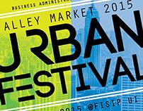 Alley Market 2015: Urban Festival