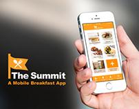 The Summit | A Mobile Breakfast App