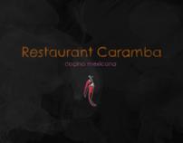 Website Restaurant Caramba
