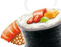 Ilustración Chan Sushi