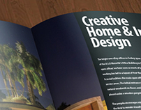 Brochure&Rollup Home Designing