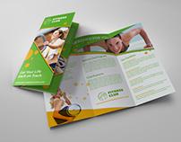 Fitness - GYM Brochure Tri-Fold Template Vol.2