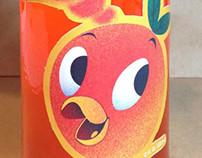Orange Bird Soda