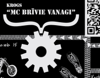 "Pub ""MC Brīvie Vanagi"" fly-sheets"