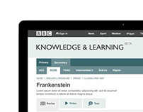 BBC Curriculum Site