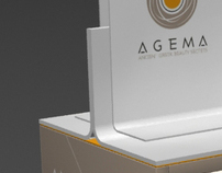 AGEMA products stand