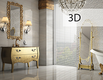 3D Works - Classic Bathroom