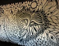 :: Murals / Walls :: Sensei Sushi ::