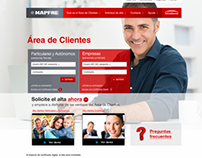 MAPFRE España, Microsites and Products