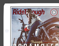 Ride Through Magazine - 2014 covers