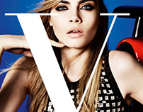 Vogue Magazine Redesign: Conductive Ink