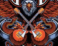 Lynyrd Skynyrd T-shirt design