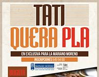 Tati Quera Pla en Colombia