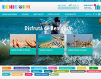 Benidorm  Tursimo, España para Agencia Paginar.com