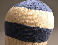 Knitting: Striped Hat