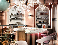 Restaurant in Moscow 200 m2