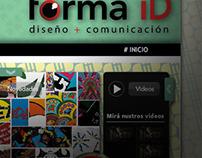 Forma iD, Website v2 | Forma iD