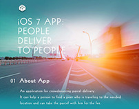 People deliver to people App