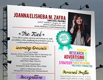 Creative Curriculum Vitae 2014