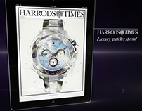 Harrods Times iPad advert